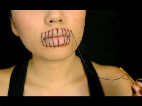 foto de Stitched Mouth Tutorial (Halloween 2013) YouTube