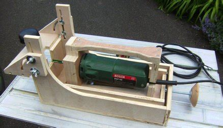 homemade festool domino xl df  style mortising machine