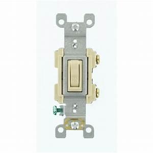 Leviton 15 Amp Preferred Switch  Ivory-r61-rs115-02i