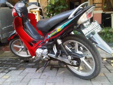 Modif Suzuki Smash Standar by Yamaha Jupiter Z Cast Wheel 2004 2005 Limited Editionnya