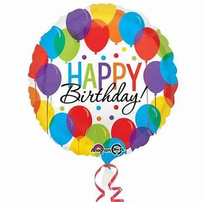 Balloons Balloon Birthday Happy Foil Round Helium