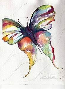 watercolor butterfly | Watercolor butterfly... | Art ...