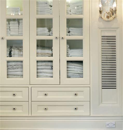 bathroom linen cabinet  glass top ideas