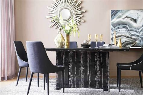 black dining table chairs black dining sets
