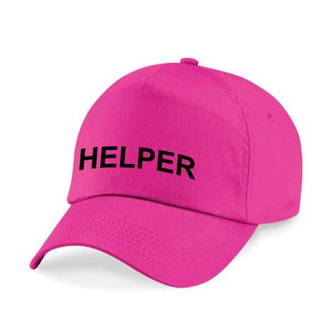 Baseball Cap Printed Helper