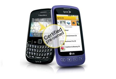 sprint pre owned phones do refurbished devices equal lower quality phonedog