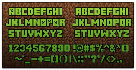 Free Minecraft Font