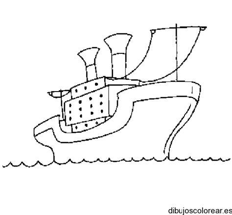 Barco De Vapor Dibujo Para Colorear by Barco A Vapor Dibujo Imagui