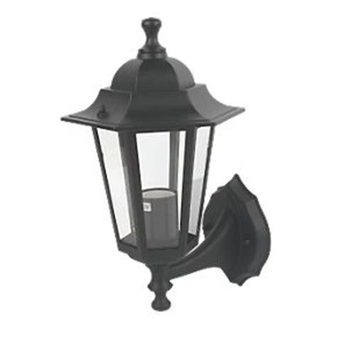 coach lantern wall light black outdoor wall lights screwfix