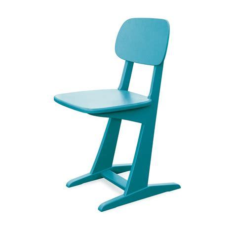 chaise de bureau enfants chaise à patins turquoise laurette pour chambre enfant