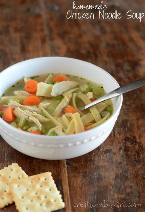 chicken noodle soup  homemade noodles