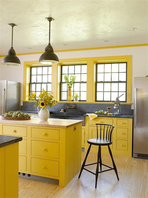cuisine grise et jaune 11 ères de décorer une cuisine en jaune et gris