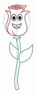 Rose, Zeichnen, Lernen, Schritt, F, U00fcr, Schritt, Tutorial
