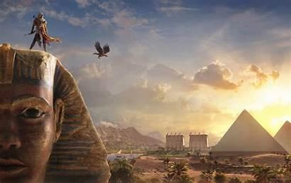 Bayek Creed Origins Sphinx Wallpapers