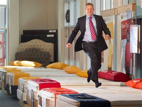 mattress firm corporate office portrait of steve stagner ceo and president of mattress