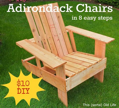 woodwork how to make adirondack chairs from pallets pdf plans