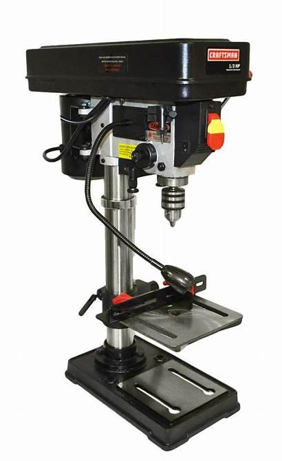 Drill Press Bench Craftsman Laser Sears Tools