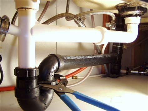 remove fix  kitchen sink drain mobile home repair
