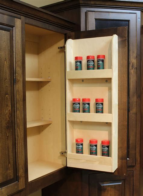 kitchen cabinet spice rack slide pull out spice rack organizer home design ideas 7959