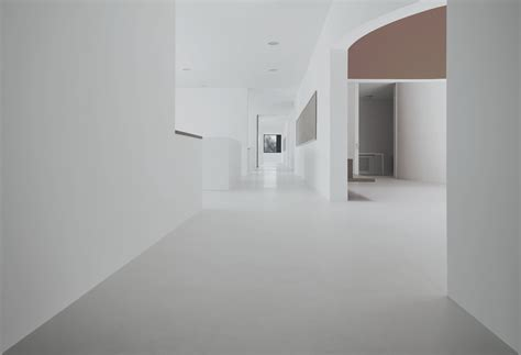 how to design home interior flooring white walls and concrete floor plus glass window