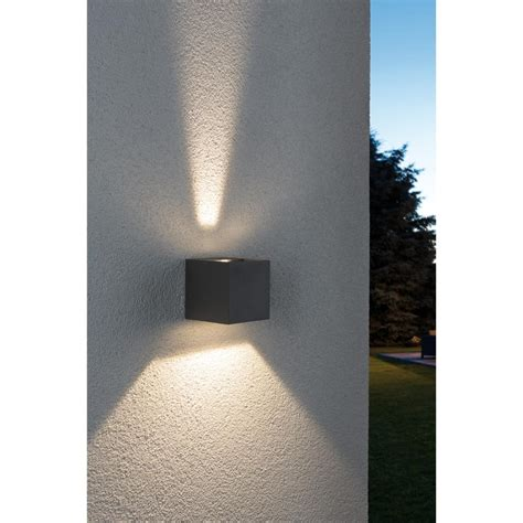 applique ext 233 rieure led sp 233 cial line cybo paulmann ip65 18000