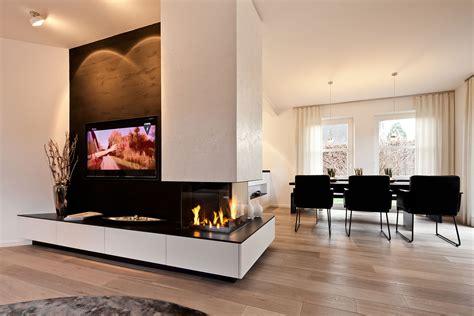 Als Wohnzimmer by Tv Kamin Kombination Im Wohnzimmer Tischlerei Sch 246 Pker