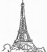 Coloring Eiffel Tower Paris Printable Colouring Adults Getdrawings Getcolorings Colorings sketch template