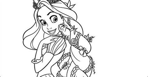 principesse disney da colorare rapunzel disegni rapunzel da colorare