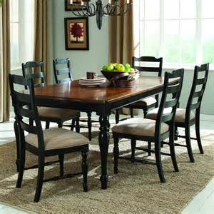 7 dining room sets homelegance mckean 7 dining room set in black