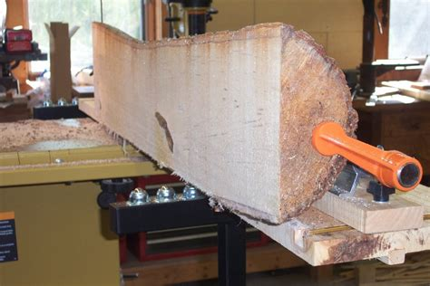 updated bandsaw log milling sled  chuckv  lumberjocks