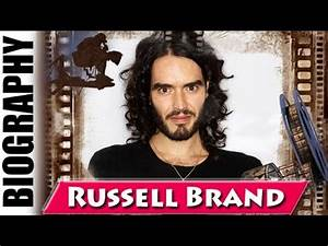 English Comedian & Actor Russell Brand - Biography and ...