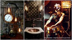 Adopt The Unconventional Steampunk Decor In Your Home
