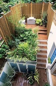 Amenager Un Petit Jardin Sans Pelouse : am nagement petit jardin de ville 12 id es sur pinterest c t maison ~ Melissatoandfro.com Idées de Décoration