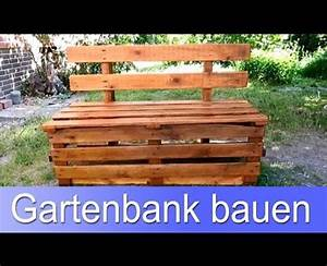 Sitzbank Günstig Selber Bauen : gartenbank aus paletten selber bauen anleitung new ~ Michelbontemps.com Haus und Dekorationen