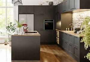 Mur De Photos : quelle couleur de mur pour une cuisine grise nos id es ~ Melissatoandfro.com Idées de Décoration