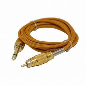 Gold U0026 39 S Mighty Braided 6 U0026 39  Rca Cord