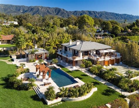 Montecito A Secluded Paradise Of Celebrity Homes