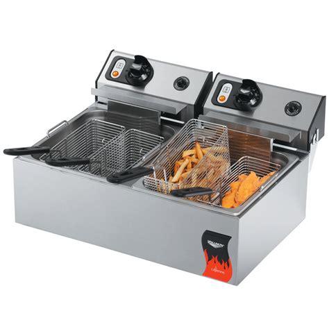 Countertop Fryers by Vollrath 40707 20 Lb Commercial Countertop Fryer