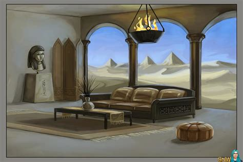 egyptian themed living room bevilacquame