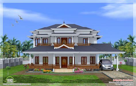 luxury  bedroom kerala style home design house design plans