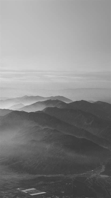 papersco iphone wallpaper  mountain fog nature