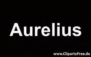 Aurelius Vorname Fr Jungen Lateinisch Bedeutung Der