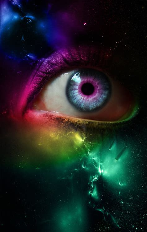seeing lights in one eye tyggy darkface seeing from light years away by
