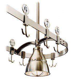 kitchen island lighting with pot rack kitchen island pot rack lighting foter 9409