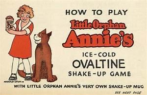 Little Orphan Annie U0026 39 S Ovaltine Shake