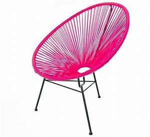 Salon De Jardin Acapulco : fauteuil acapulco rose 79 salon d 39 t ~ Teatrodelosmanantiales.com Idées de Décoration