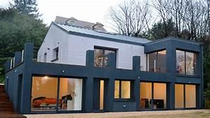 Transformation exterieur maison avant apres bureaux prestige for Maison avant apres renovations exterieures
