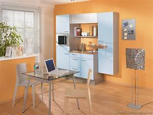 pictures of kitchens modern blue kitchen cabinets With kitchen colors with white cabinets with wall art for dorm rooms