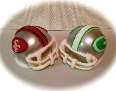 football helmet cake toppers  expresssugardesigns