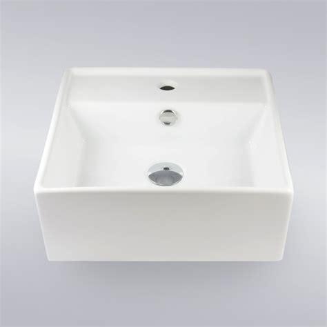 Self Bathroom Sink by 16 Inch Self Porcelain Ceramic Single